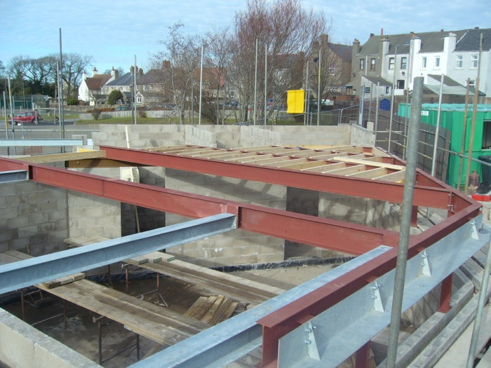 Cleator Moor Nursery Steelwork